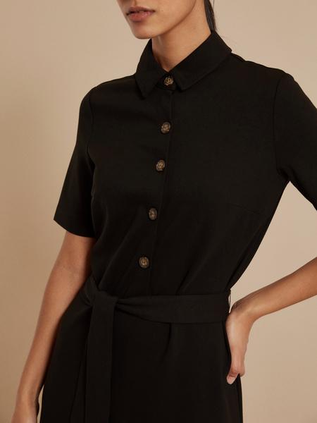 Платье с воротником поло - фото 2