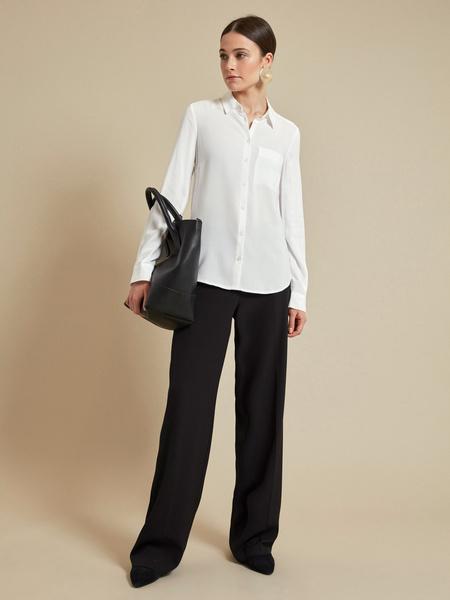 Блузка с ассиметричным низом 100 % вискоза - фото 5