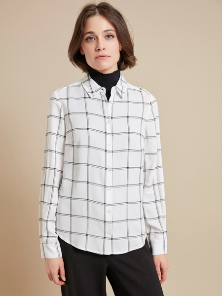 Блузка с ассиметричным низом 100 % вискоза - фото 1