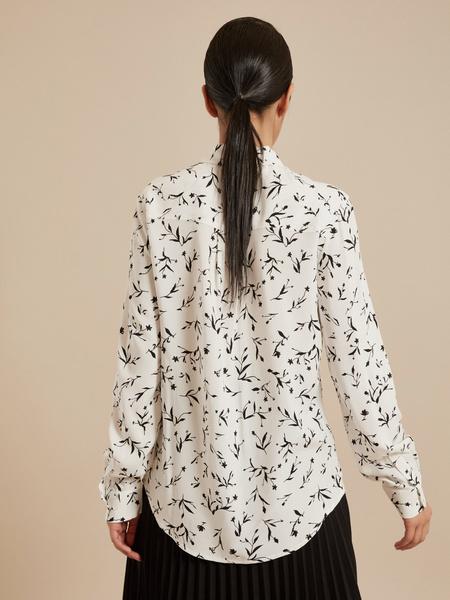 Блузка с ассиметричным низом 100 % вискоза - фото 3