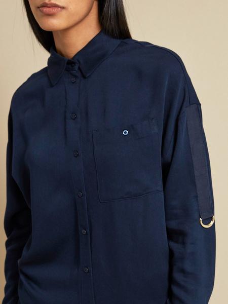 Блузка с рукавами трансформер 100% вискоза - фото 2