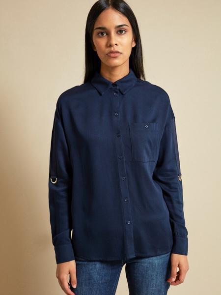 Блузка с рукавами трансформер 100% вискоза - фото 5