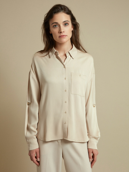 Блузка с рукавами трансформер 100% вискоза