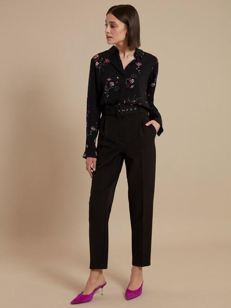 Блузка с цветочным принтом - фото 6