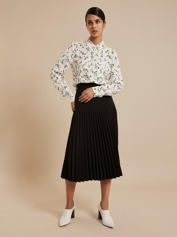 Блузка с ассиметричным низом 100 % вискоза - фото 4