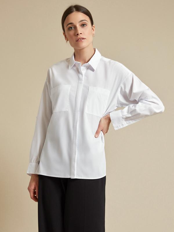 Блузка с рукавами трансформер