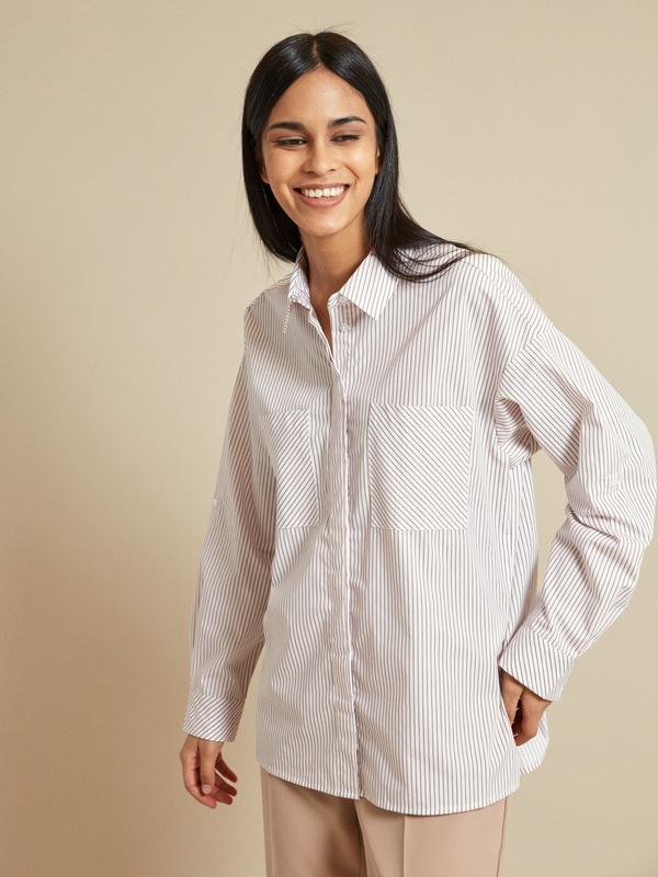Блузка с рукавами трансформер - фото 3