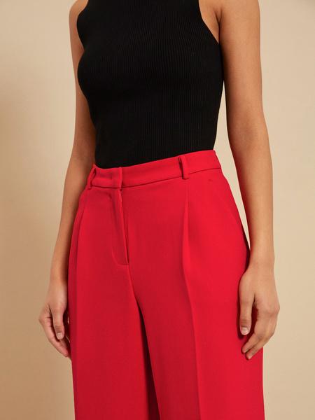 Широкие брюки со стрелками - фото 4