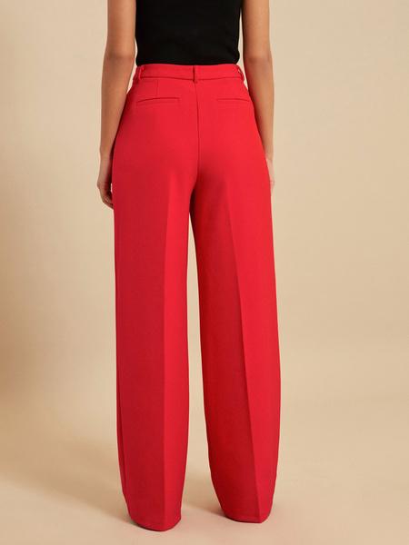 Широкие брюки со стрелками - фото 5