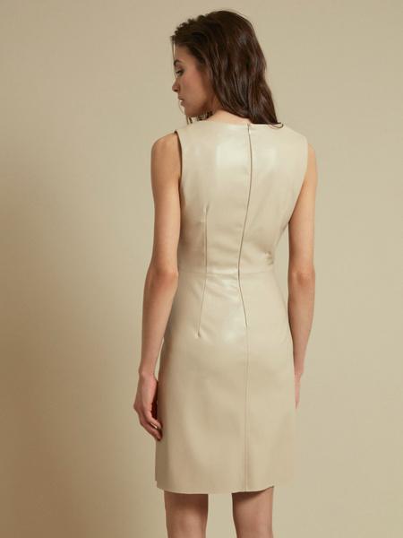 Платье из экокожи - фото 7