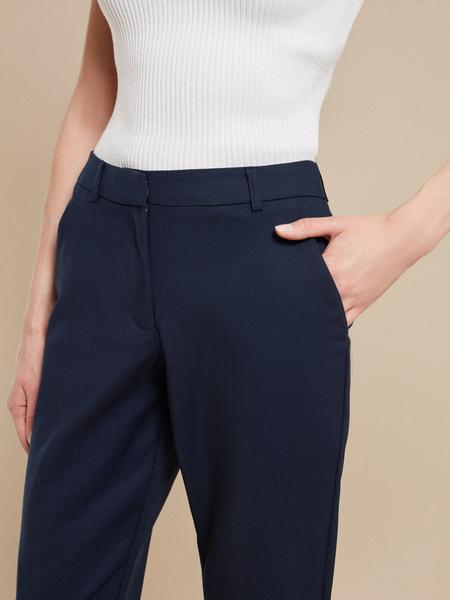 Зауженные брюки с карманами - фото 4