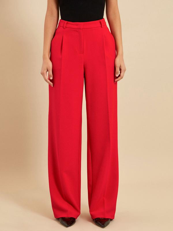 Широкие брюки со стрелками - фото 3