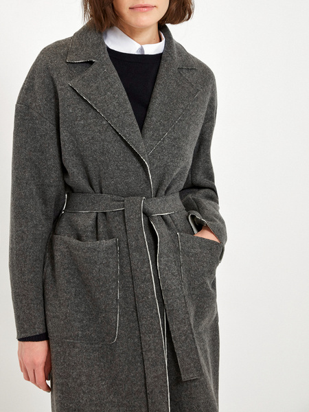 Пальто с шерстью - фото 3