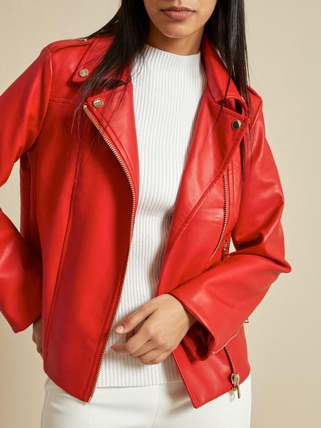 Куртка из экокожи - фото 3