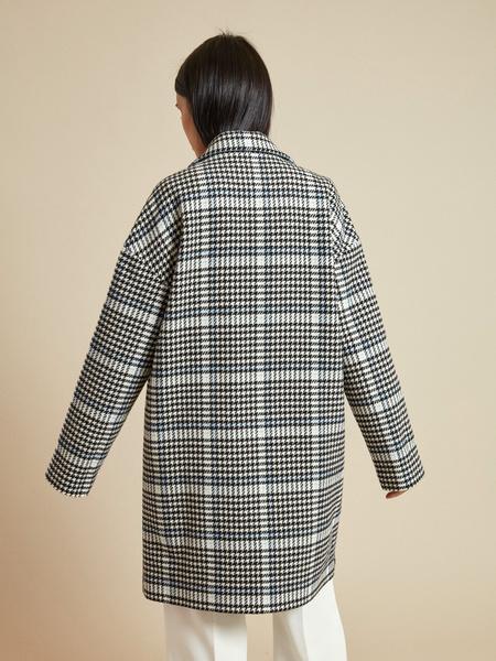 Пальто в клетку - фото 4