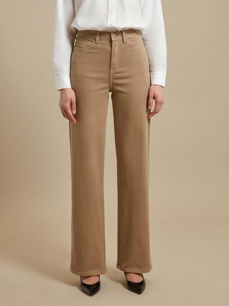 Расклешенные джинсы wide leg - фото 2