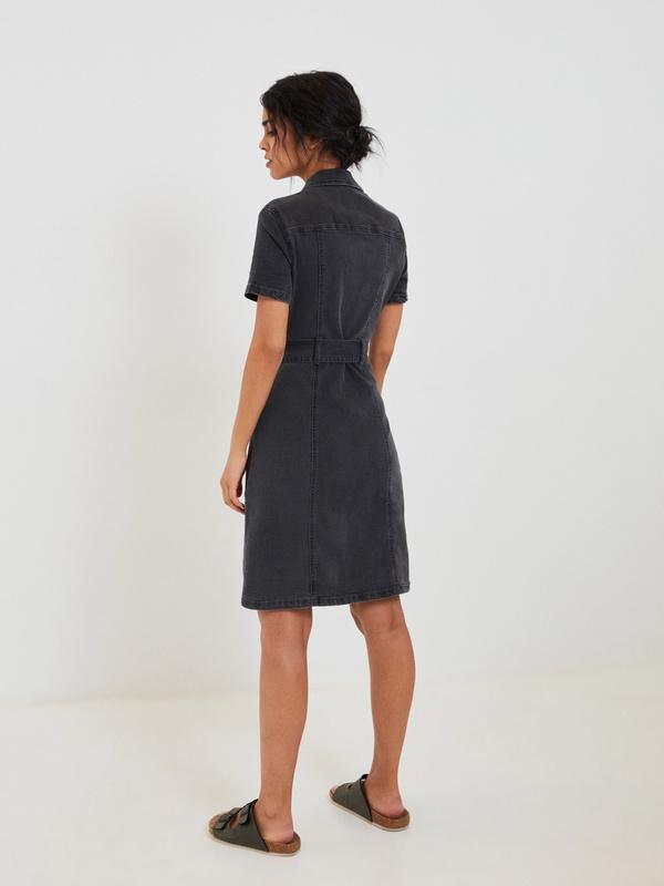 Платье-миди из хлопка - фото 3
