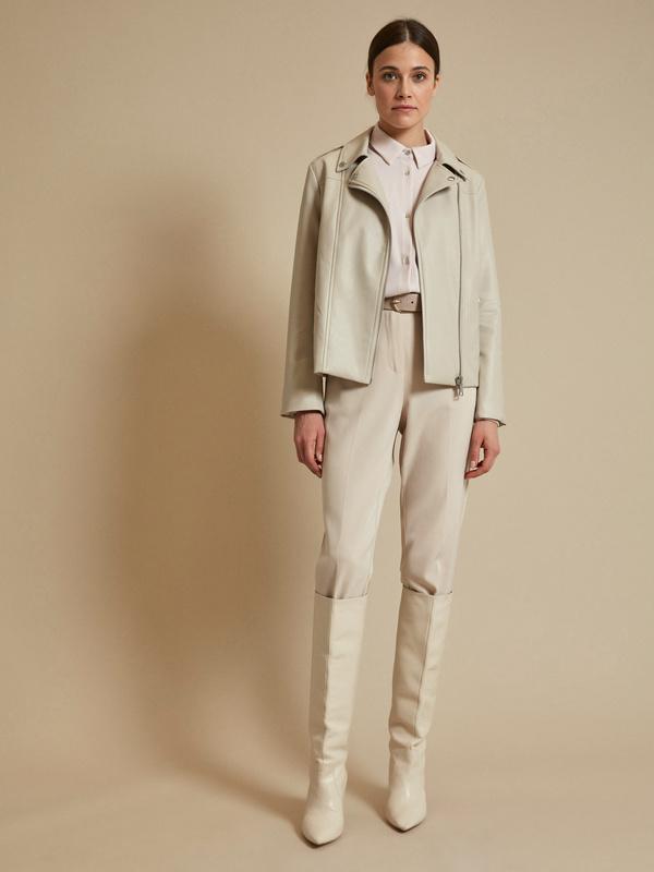 Куртка из экокожи - фото 4