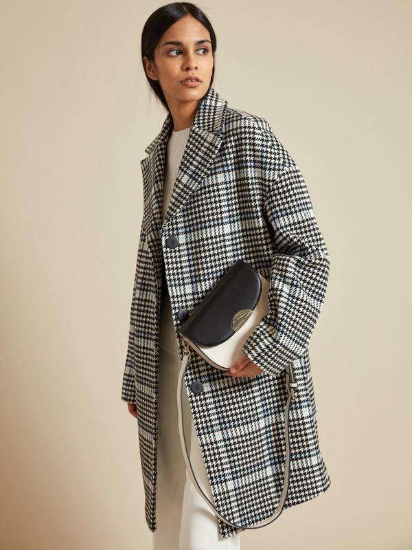 Пальто в клетку - фото 5