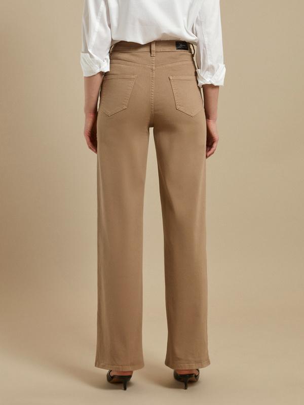 Расклешенные джинсы wide leg - фото 4