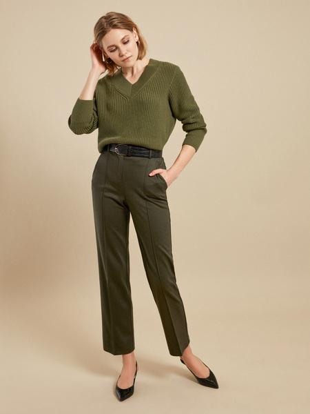 Прямые брюки со стрелками - фото 1