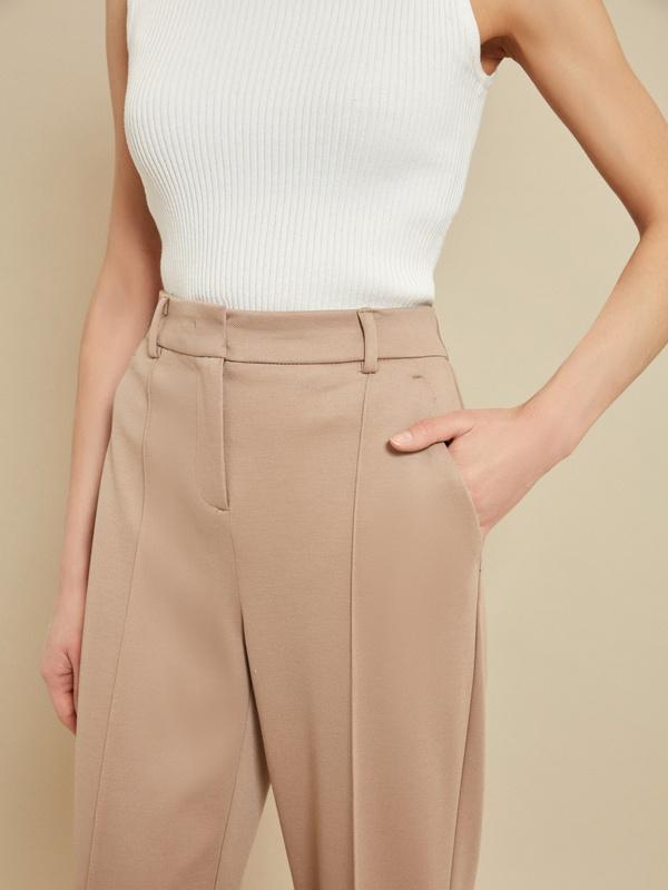 Прямые брюки со стрелками - фото 3