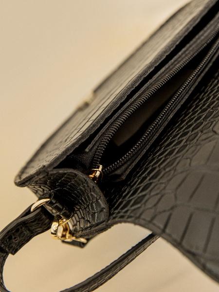Мини-сумка на длинном ремне - фото 3