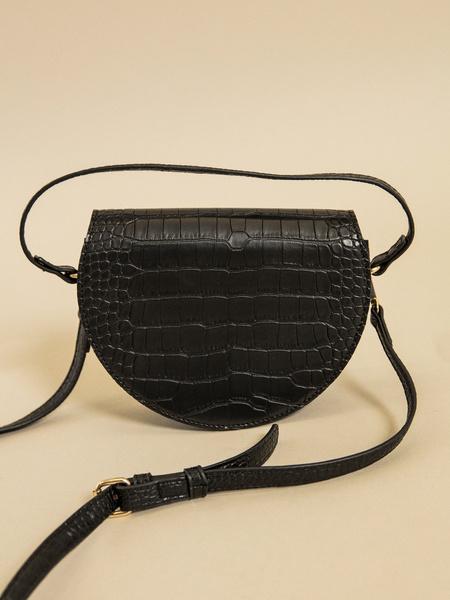 Мини-сумка на длинном ремне - фото 4