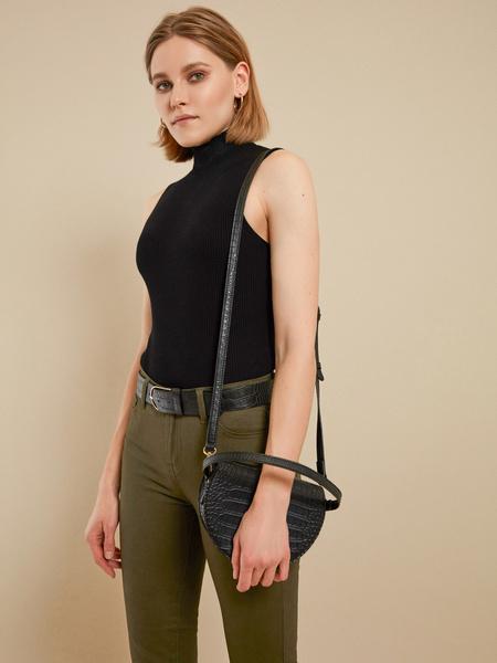 Мини-сумка на длинном ремне - фото 5