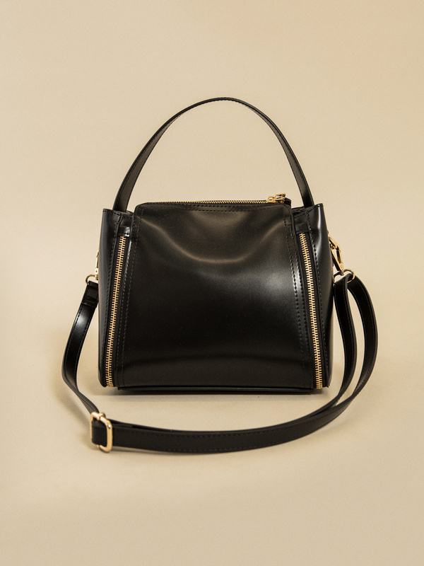 Фактурная сумка с молниями - фото 4