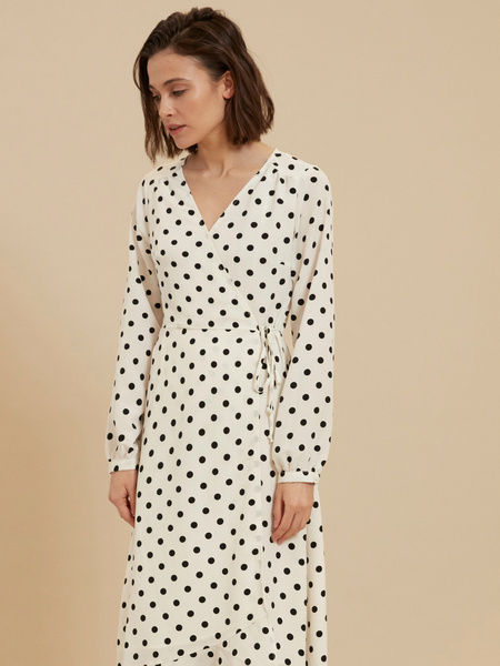 Платье с ассиметричным подолом - фото 1