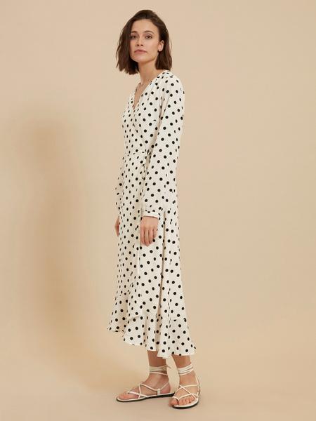 Платье с ассиметричным подолом - фото 2