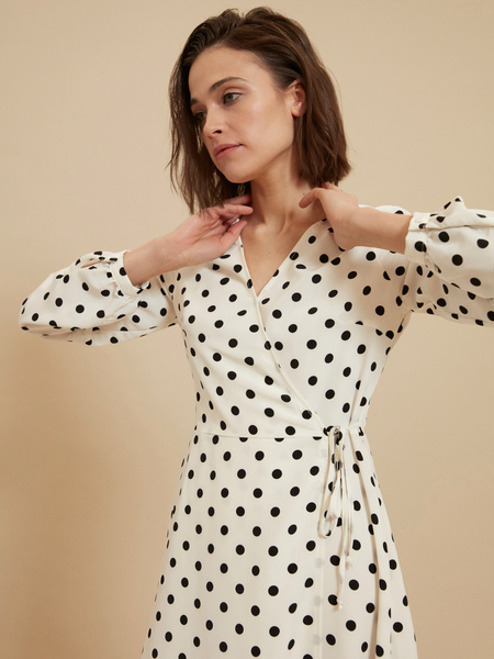 Платье с ассиметричным подолом - фото 3