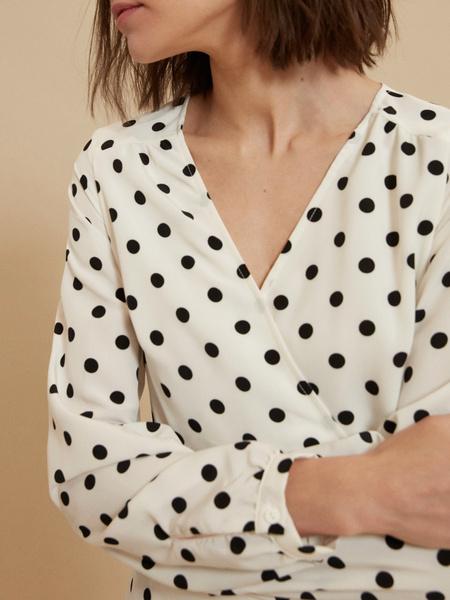 Платье с ассиметричным подолом - фото 4