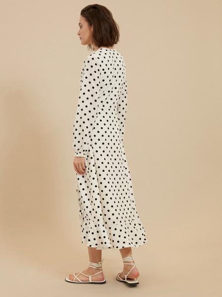 Платье с ассиметричным подолом - фото 5