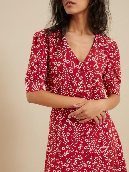 Платье на пуговицах - фото 2