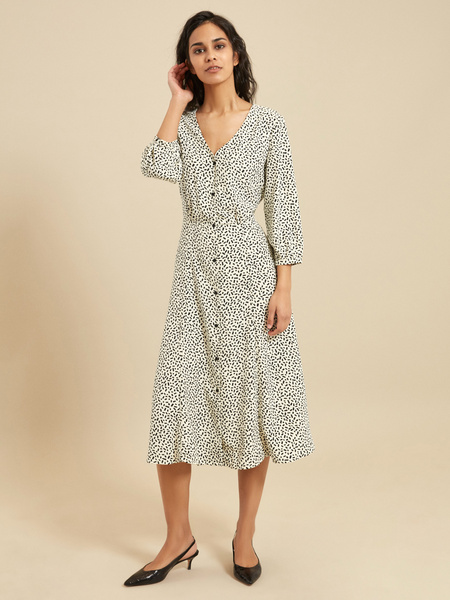 Платье с завязками на спине - фото 1