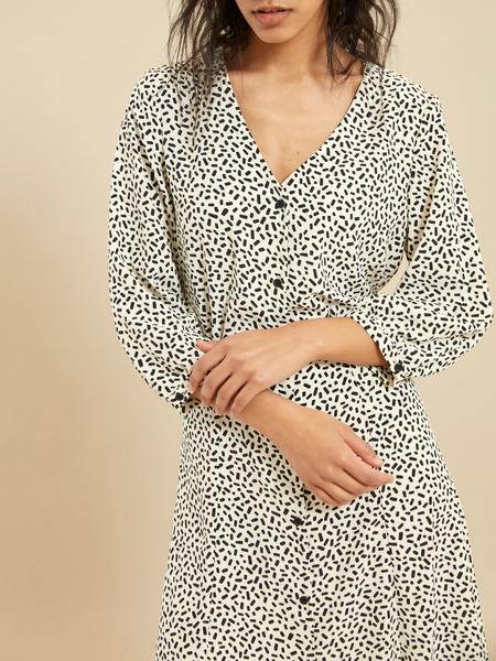 Платье с завязками на спине - фото 4