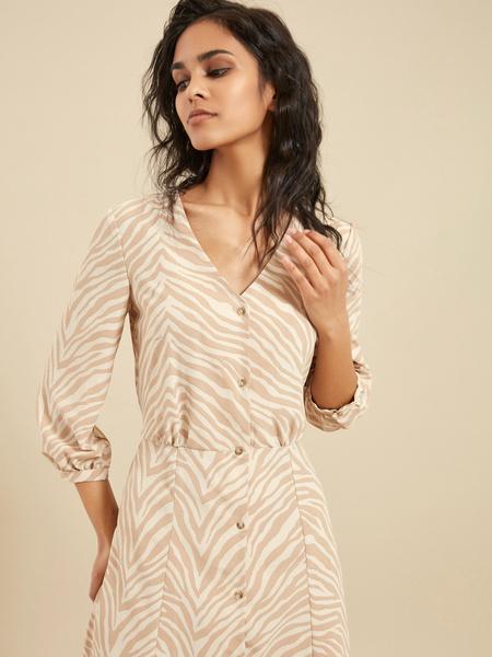 Платье с завязками на спине - фото 3