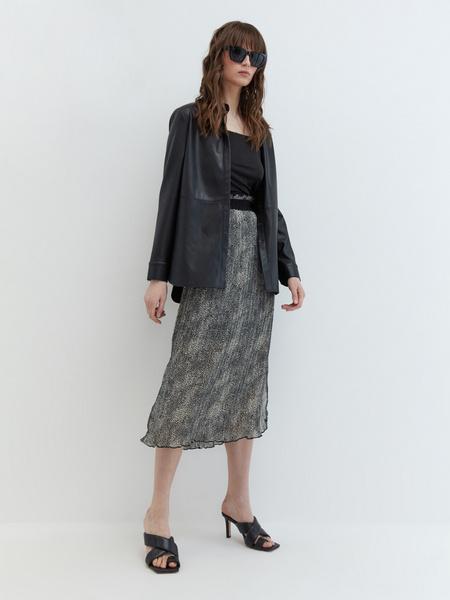 Плиссированная юбка - фото 6