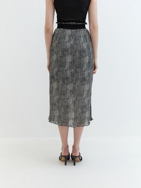 Плиссированная юбка - фото 7