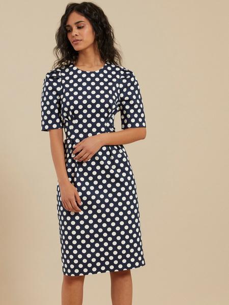 Платье-миди на запахе - фото 3