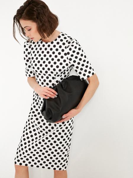 Платье-миди на запахе - фото 2