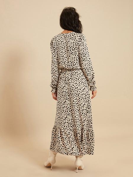 Платье-миди с разрезом - фото 5