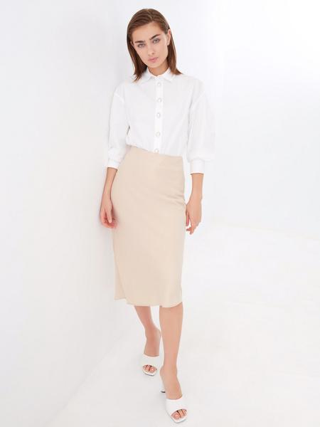 Блузка с широкими рукавами - фото 6