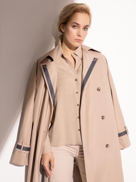 Блузка с накладными карманами - фото 11