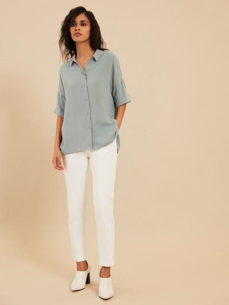 Рубашка с коротким рукавом - фото 5