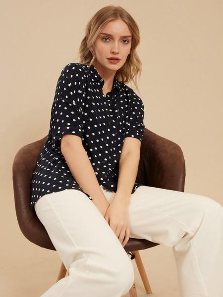 Рубашка с коротким рукавом - фото 2