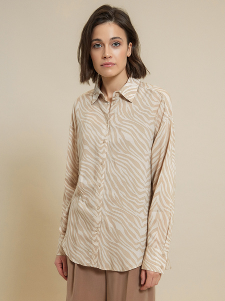 Блузка 100% вискоза - фото 1