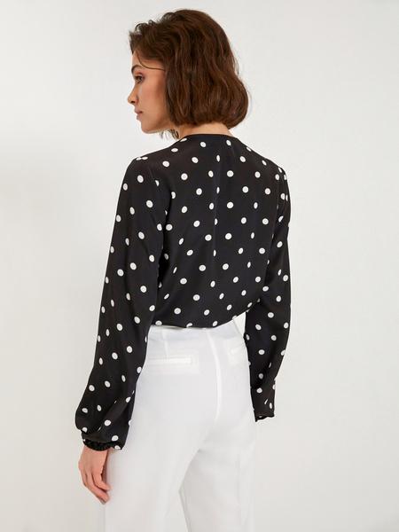 Блузка-боди с запáхом - фото 2